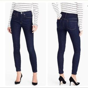 "J.Crew Womans 8"" Toothpick Ankle Jean In Classic"